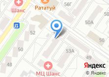 Компания «Дента+» на карте