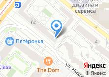 Компания «Уральская дирекция сетевой коммуникационной компании» на карте
