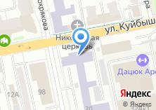 Компания «ИНГОРТЕХ» на карте