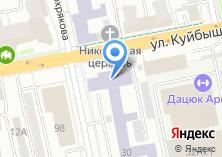 Компания «Уральский государственный горный университет» на карте