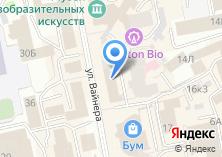 Компания «Vodka» на карте