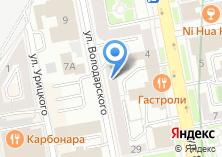 Компания «ЛИГА» на карте