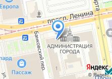 Компания «Департамент архитектуры» на карте