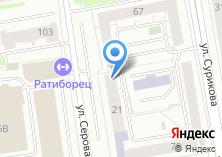 Компания «Альфаком» на карте