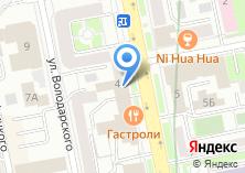 Компания «Газпроект» на карте