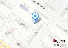 Компания «Автостоянка на ул. Индустрии» на карте