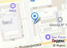 Компания «Виста-Аэро» на карте