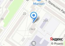 Компания «ГУАШЬ» на карте