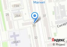 Компания «Комфорт-Строй» на карте