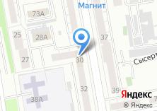 Компания «Екатеринбургское Квартирное Бюро» на карте