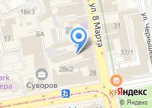 Компания «Техносвязь» на карте