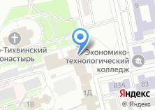 Компания «Ново-тихвинский женский монастырь -магазин» на карте