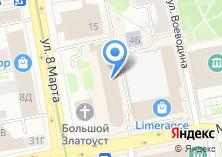 Компания «УКБ» на карте