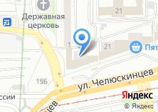 Компания «Пекарушка» на карте