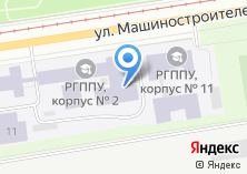 Компания «Российский государственный профессионально-педагогический университет» на карте