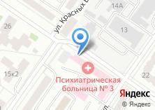 Компания «Психиатрическая больница №3» на карте