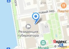 Компания «Министерство международных и внешнеэкономических связей Свердловской области» на карте