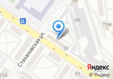 Компания «Запчасть» на карте