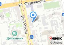 Компания «Дверца» на карте