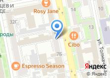 Компания «Форалл» на карте
