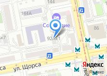 Компания «МЕД АУДИО» на карте