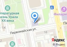 Компания «УКНиУ» на карте