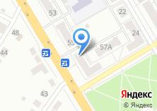 Компания «Удача» на карте