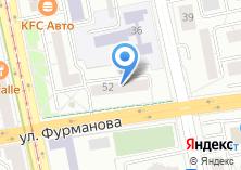 Компания «Уралдизайнстрой» на карте