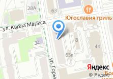 Компания «Lublu Gorkogo» на карте