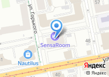 Компания «Горького» на карте