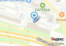 Компания «Домкар» на карте