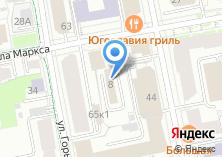 Компания «Prorab96.ru» на карте