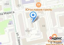 Компания «Адвокатский кабинет Сидоренко Е.В» на карте