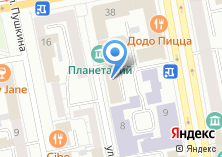 Компания «ФСК ЕЭС МЭС» на карте