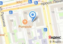 Компания «Lynch» на карте