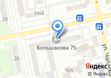 Компания «Улицы метро» на карте