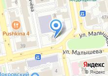 Компания «Аметист» на карте