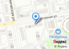 Компания «Уральский садовод» на карте