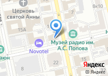 Компания «Фабрика праздника» на карте