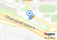 Компания «Автостоянка на ул. Крестинского» на карте