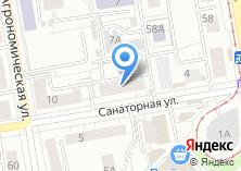 Компания «Городская дезинфекционная служба» на карте