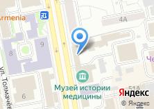 Компания «Екатеринбургский учебный центр Федеральной противопожарной службы» на карте