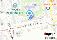 Компания «Мировые судьи Октябрьского района» на карте