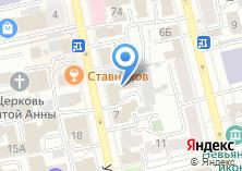 Компания «Дефенсор» на карте