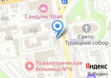 Компания «Дезинфекционное подразделение» на карте