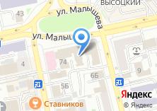 Компания «Шоко» на карте