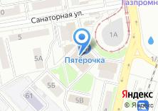 Компания «Тикон» на карте