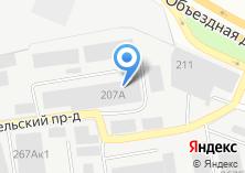 Компания «Янтекс» на карте