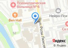 Компания «Департамент ветеринарии Свердловской области» на карте