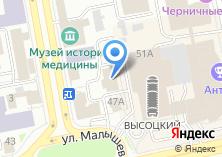 Компания «Сименс» на карте
